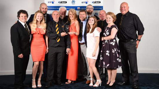 Annan RFC: BT Club Of The Year 2016