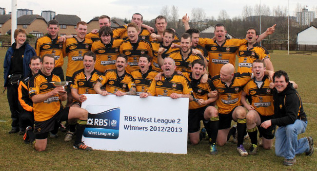 Annan RFC: 2012/2013 League 2 Winners