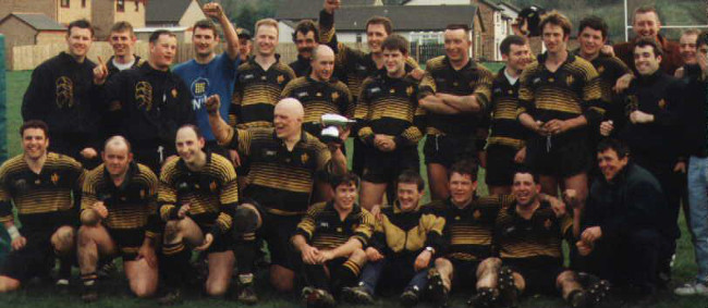 Annan RFC: 1990s - 7 League Championships In A Row
