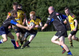 2nd XV in action