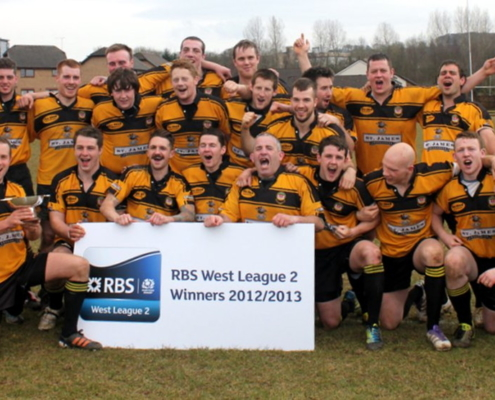 2012-13: 1st XV - Champions - Regional West 2
