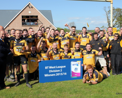 2015-16: 1st XV - Champions - Regional West 2