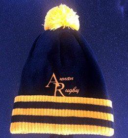 Annan Rugby Beanie Hats