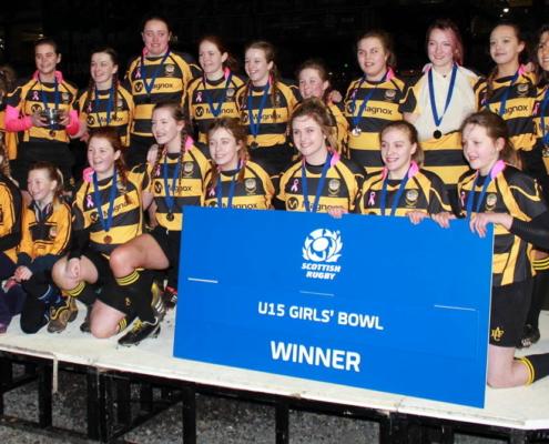 U15 Hornets - Hornets Winners - SRU Girls Bowl
