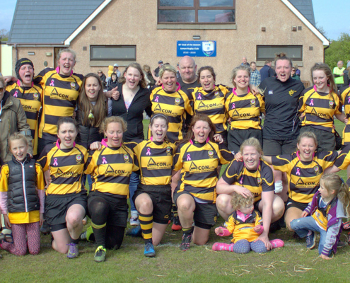 2016-17: Warriors XV - Promoted to National Division 1