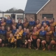 Warriors and Broughton Ladies after the match
