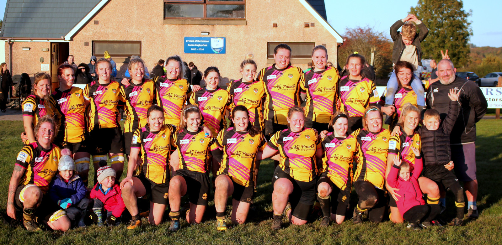 The mighty Annan Warriors