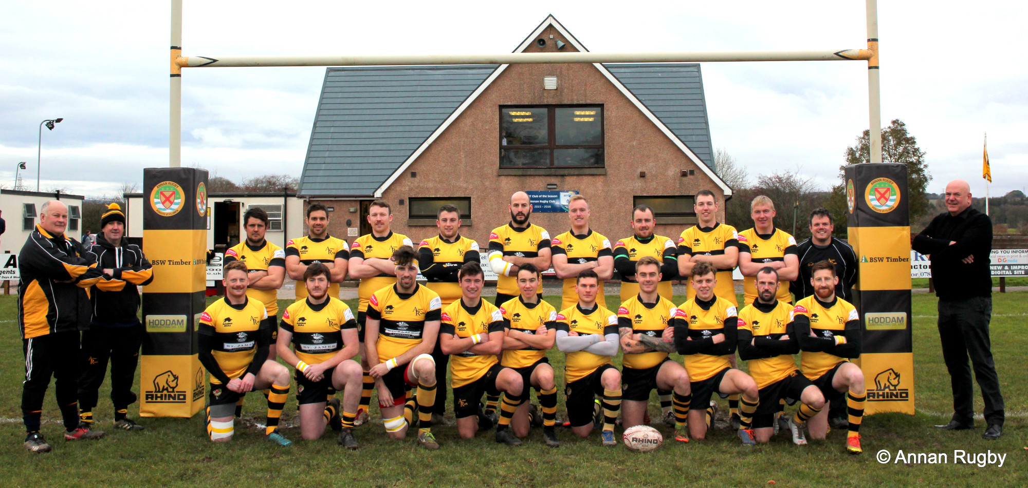 1st XV before the match