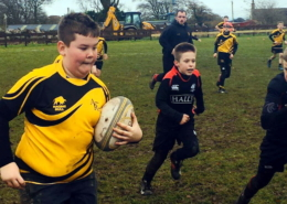 P1-P7 Tigers in action