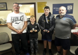 November U14 Tigers Players of the month