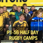 3rd, 4th, 6th, 7th August: P1-S6 Half Day Rugby Camps