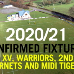 CANCELLED: 2020/21 Confirmed Fixtures