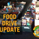 FOOD DRIVE: THE HANDOVER