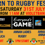 RETURN TO RUGBY FESTIVAL